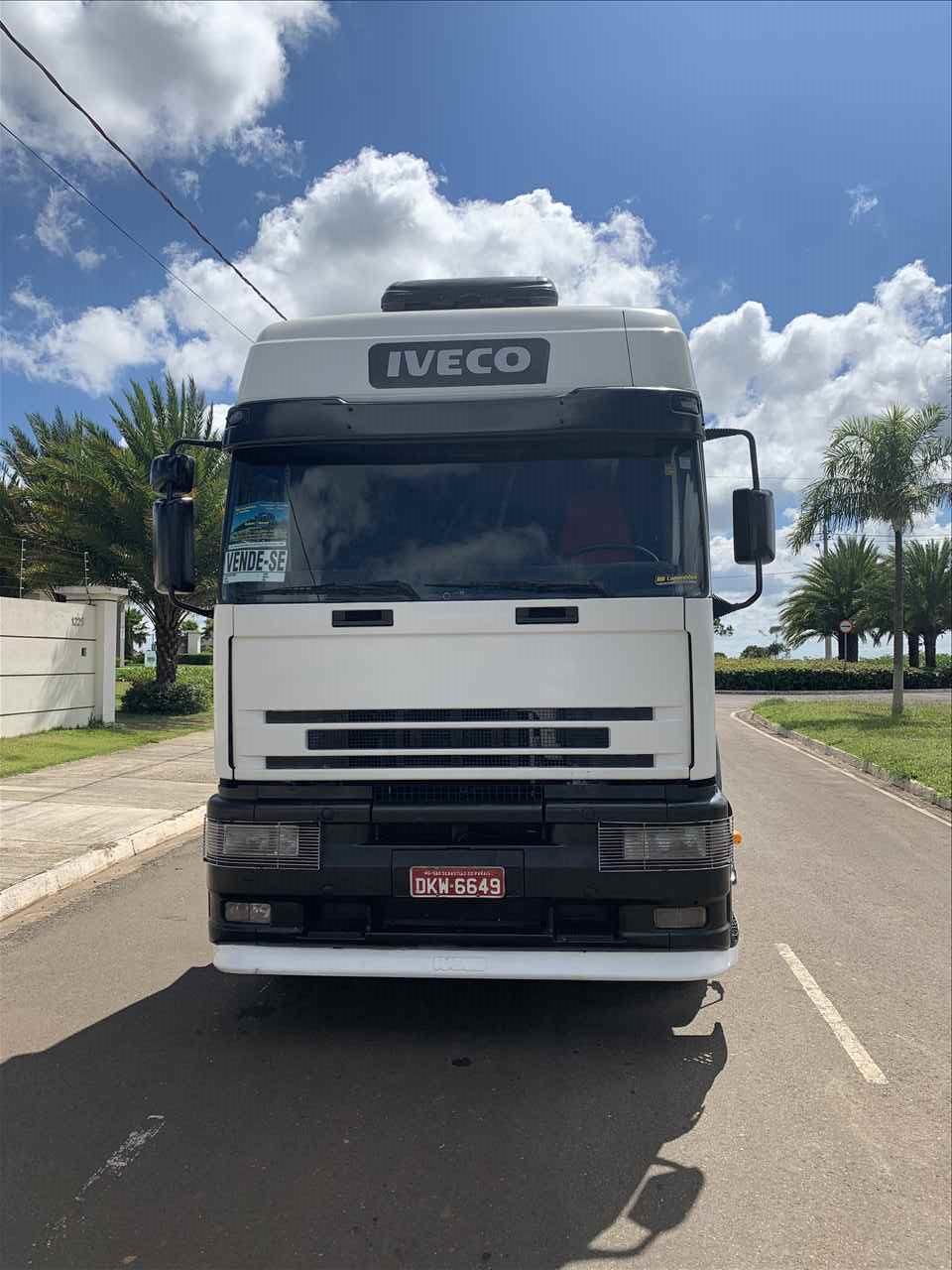 CAMINHAO IVECO EUROTECH 450E37 Cavalo Mecânico Truck 6x2 RB Caminhões e Carretas SAO SEBASTIAO DO PARAISO MINAS GERAIS MG
