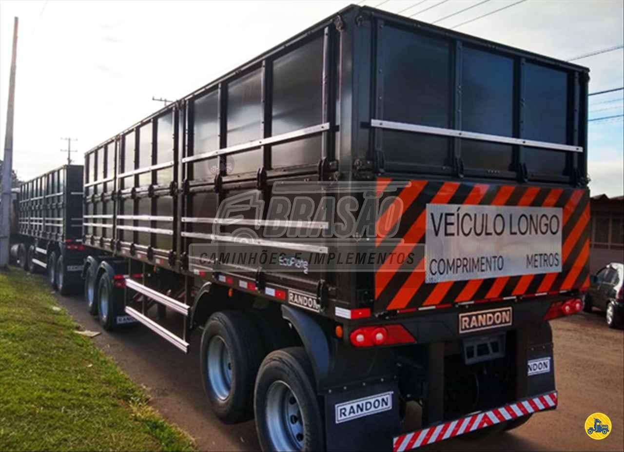 CARRETA RODOTREM GRANELEIRO Brasão Caminhões e Veículos CAMBE PARANÁ PR