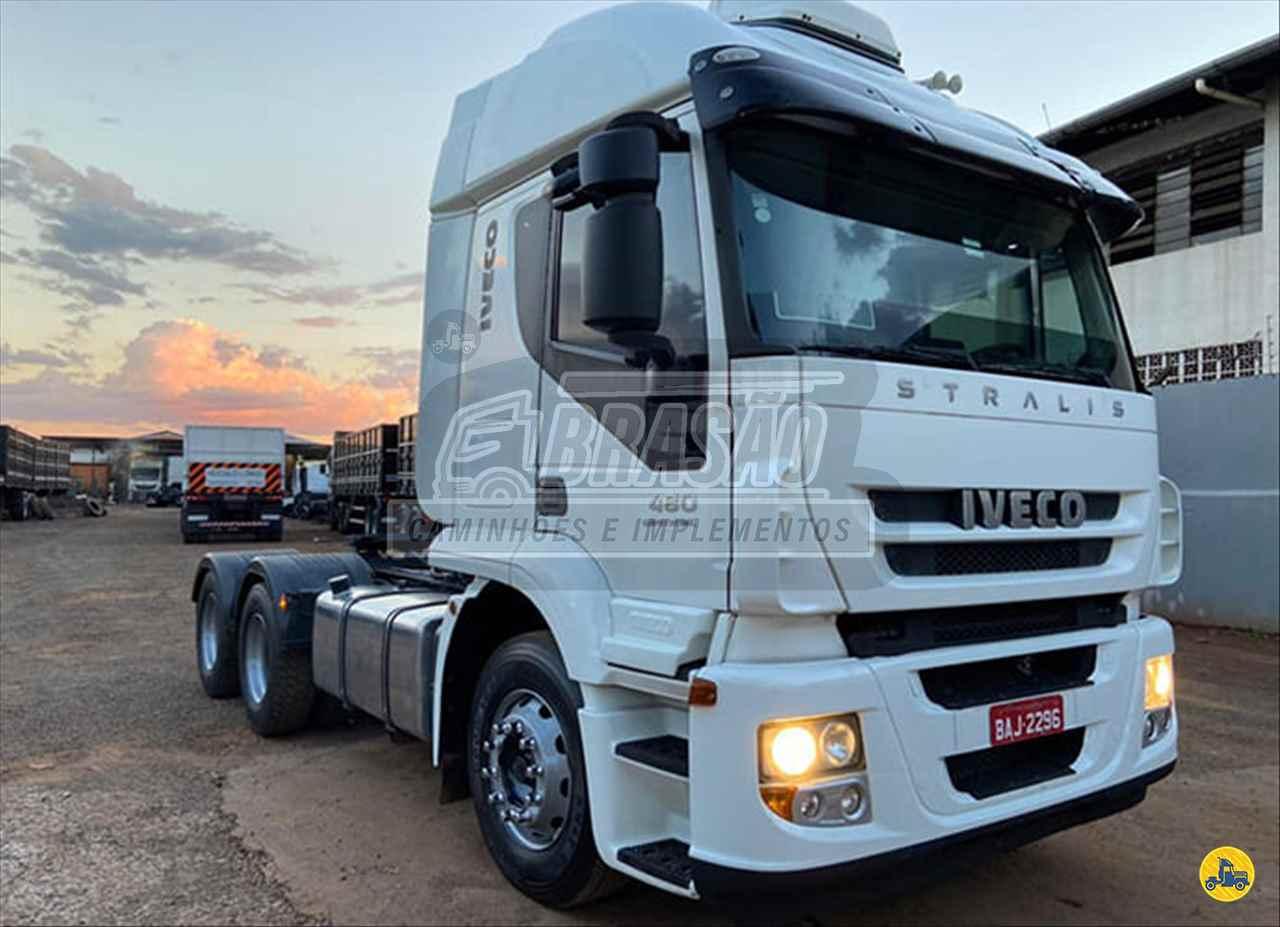 CAMINHAO IVECO STRALIS 480 Cavalo Mecânico Traçado 6x4 Brasão Caminhões e Veículos CAMBE PARANÁ PR