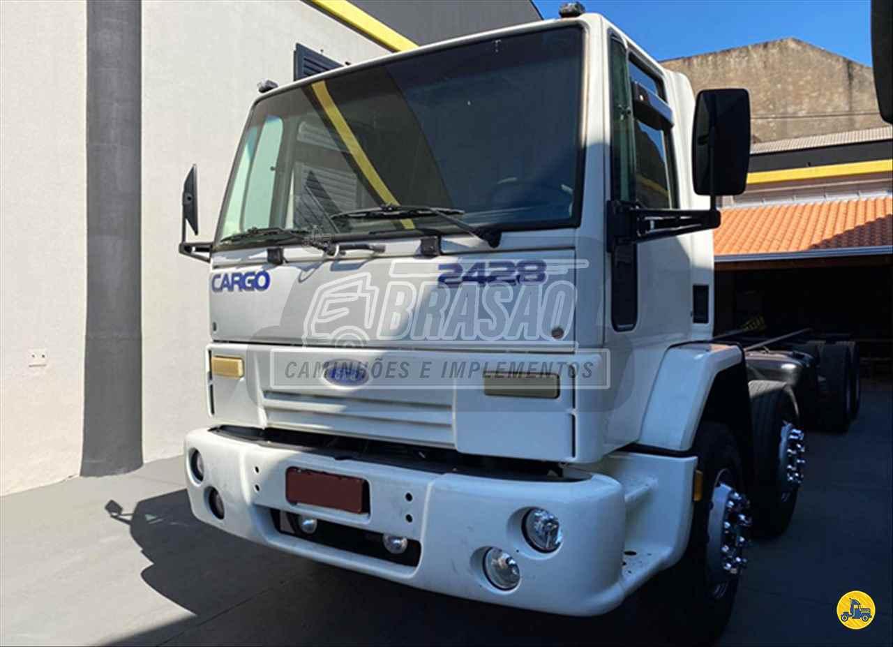 CAMINHAO FORD CARGO 2428 Cavalo Mecânico BiTruck 8x2 Brasão Caminhões e Veículos CAMBE PARANÁ PR