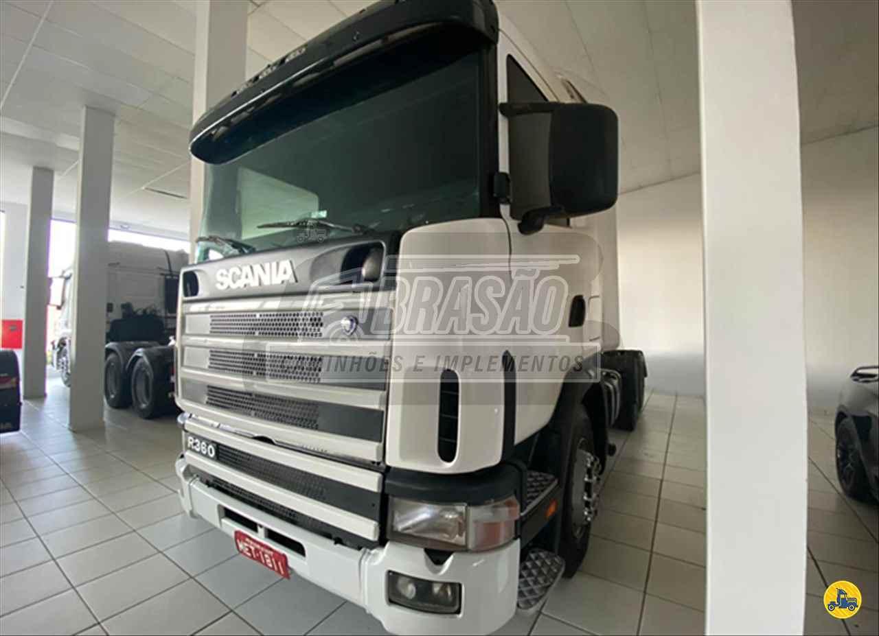 CAMINHAO SCANIA SCANIA 360 Cavalo Mecânico Truck 6x2 Brasão Caminhões e Veículos CAMBE PARANÁ PR