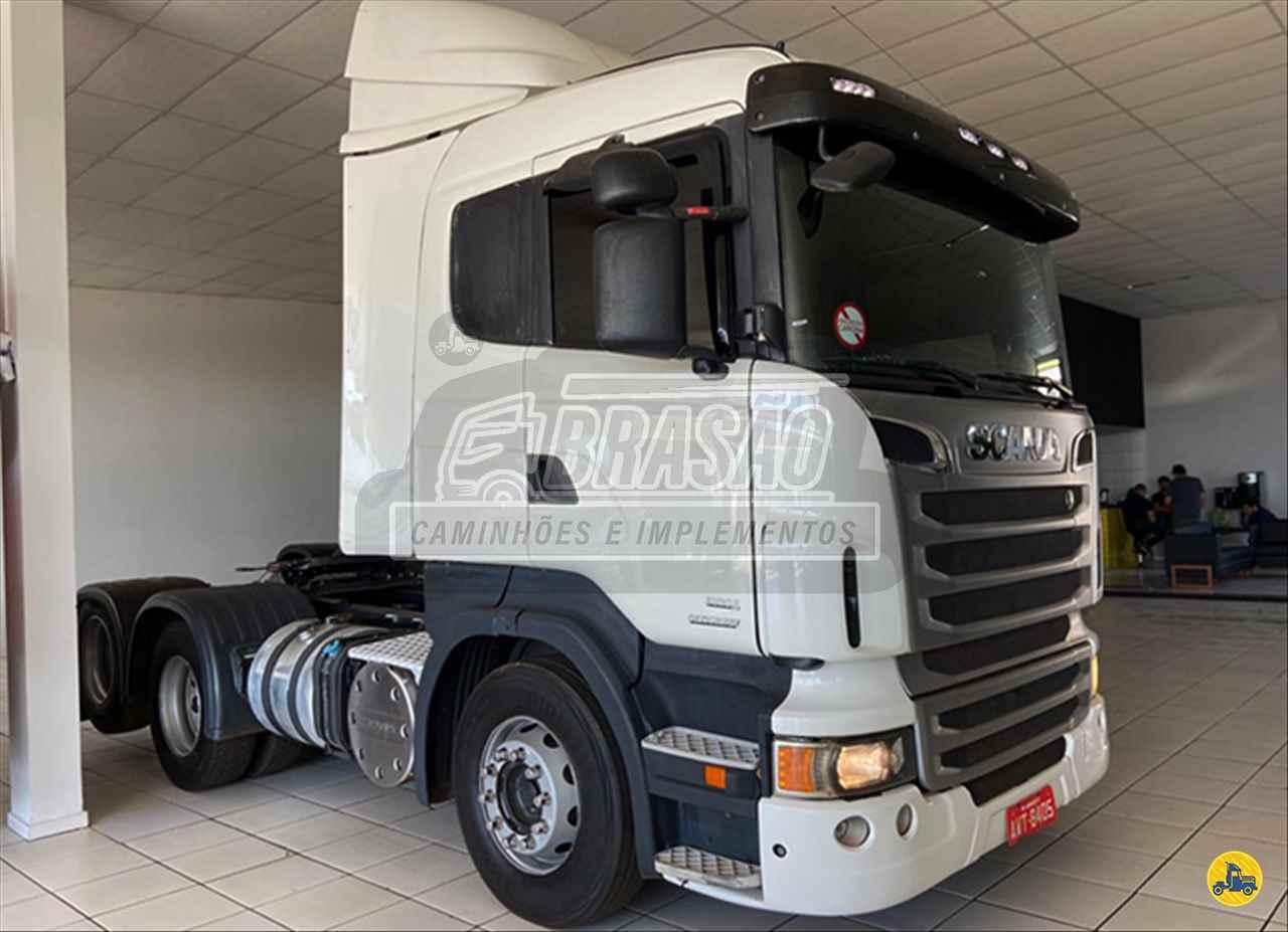 CAMINHAO SCANIA SCANIA 440 Cavalo Mecânico Truck 6x2 Brasão Caminhões e Veículos CAMBE PARANÁ PR