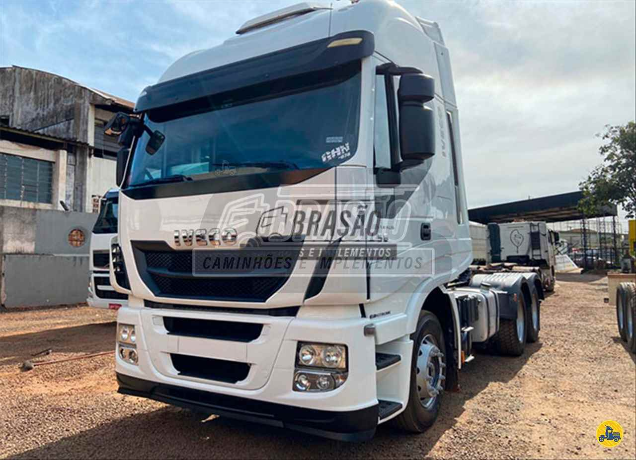 CAMINHAO IVECO STRALIS 560 Graneleiro Traçado 6x4 Brasão Caminhões e Veículos CAMBE PARANÁ PR
