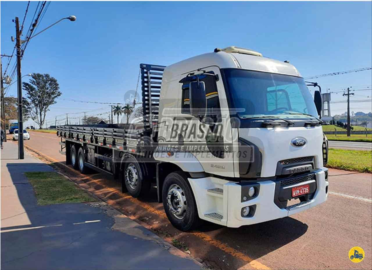 CAMINHAO FORD CARGO 2428 Carroceria Cabine Suplementar BiTruck 8x2 Brasão Caminhões e Veículos CAMBE PARANÁ PR