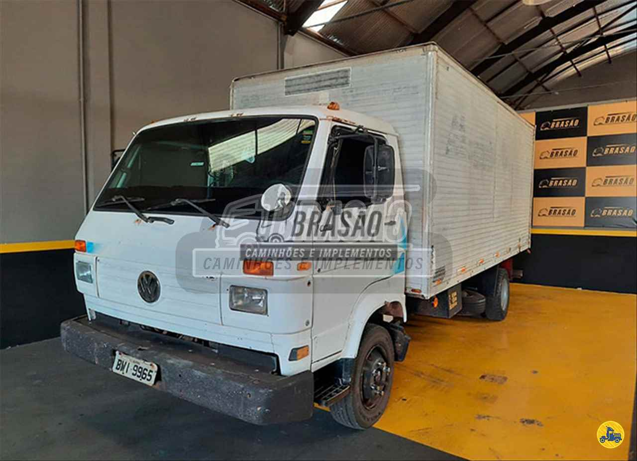 CAMINHAO VOLKSWAGEN VW 8140 Baú Sider Toco 4x2 Brasão Caminhões e Veículos CAMBE PARANÁ PR