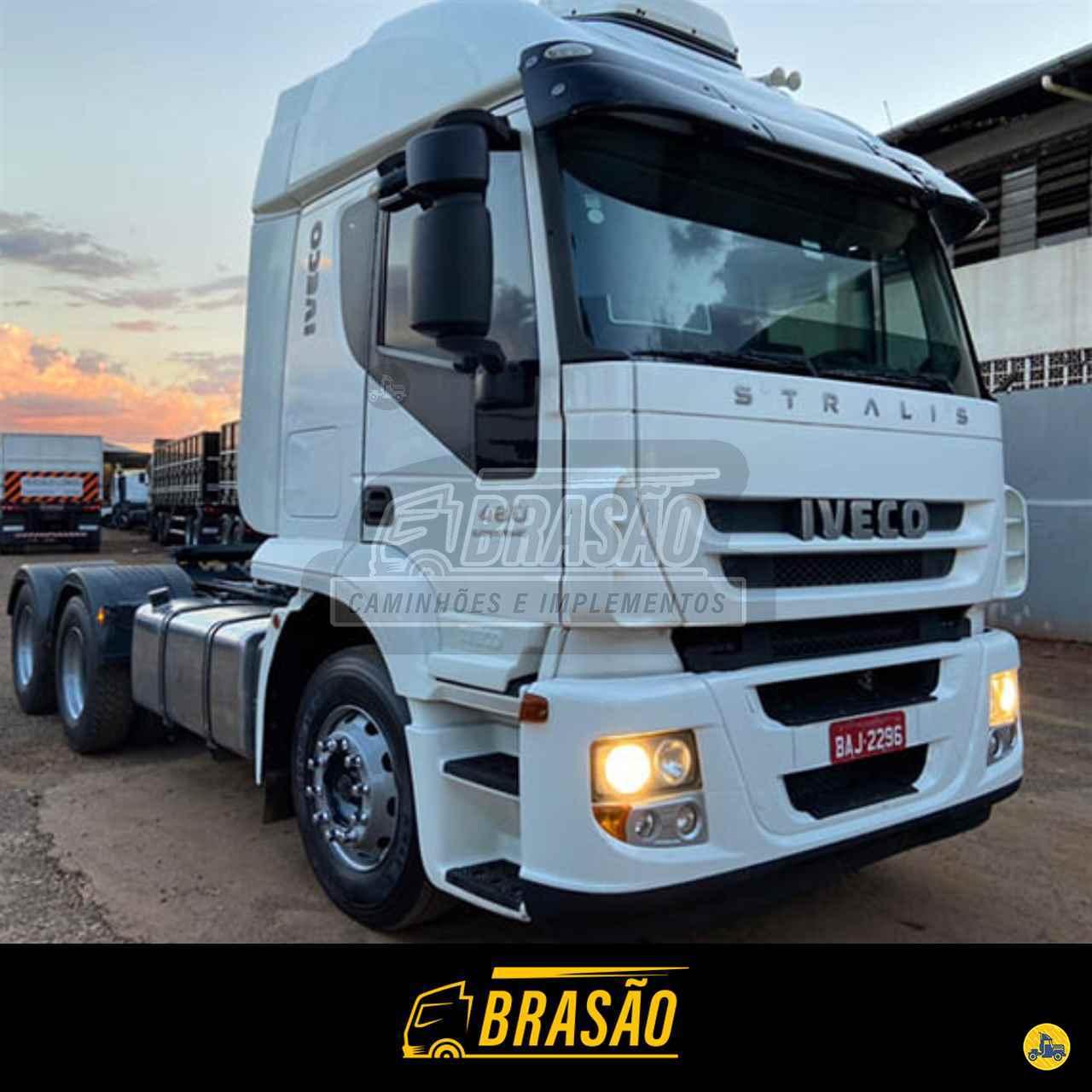 CAMINHAO IVECO STRALIS 480 Chassis Traçado 6x4 Brasão Caminhões e Veículos CAMBE PARANÁ PR