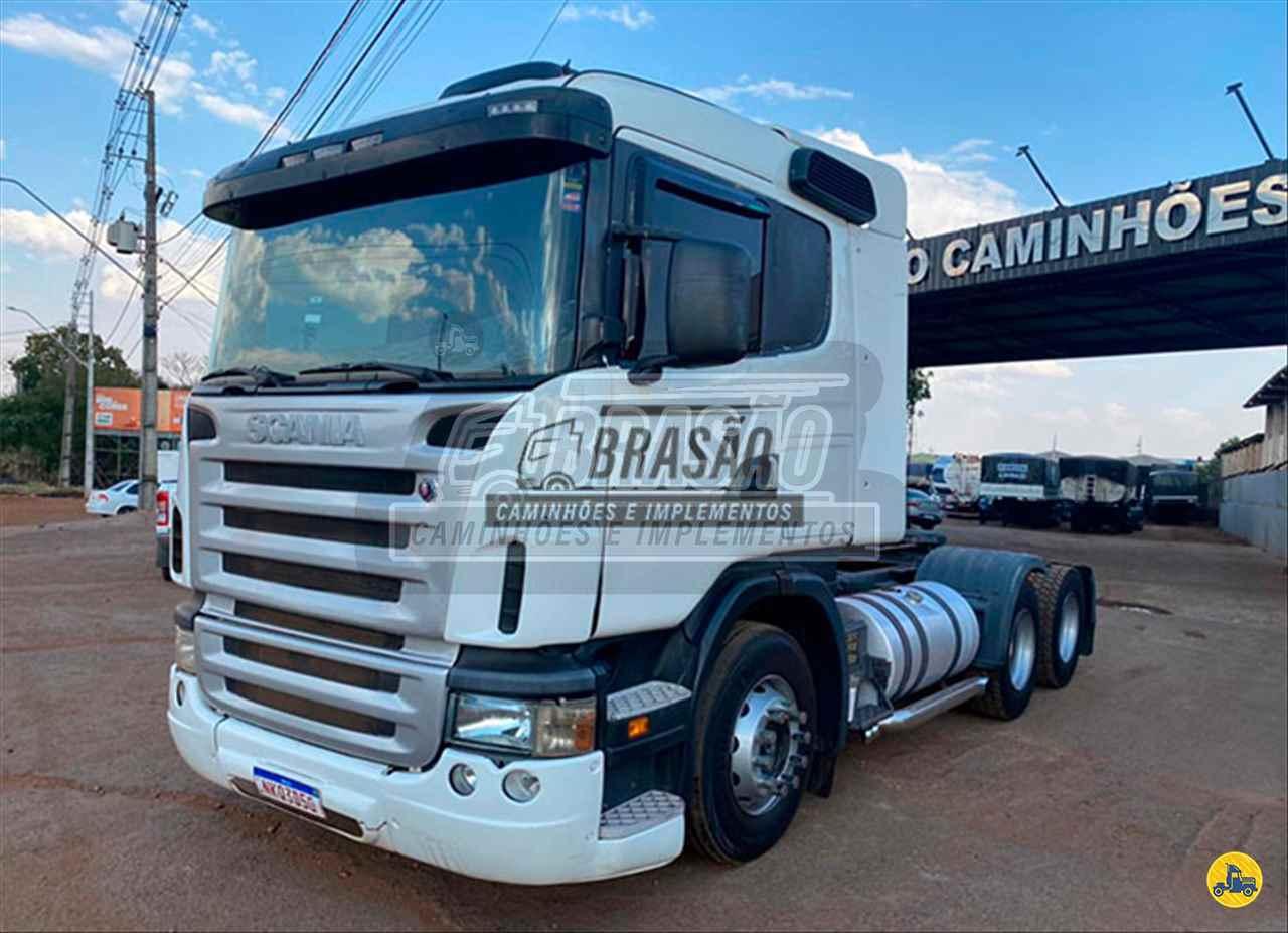 CAMINHAO SCANIA SCANIA 420 Graneleiro Truck 6x2 Brasão Caminhões e Veículos CAMBE PARANÁ PR