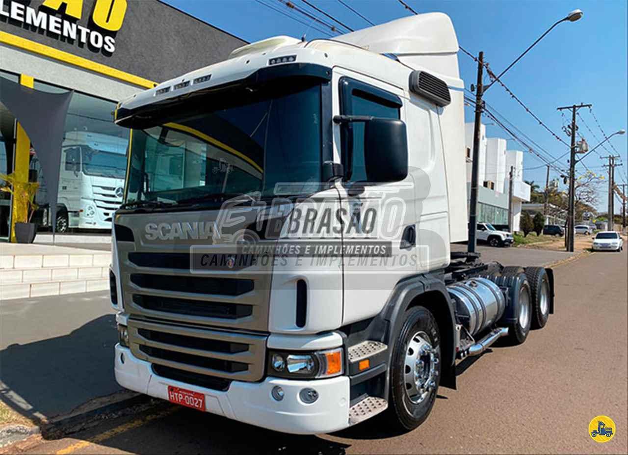 CAMINHAO SCANIA SCANIA 420 Chassis Traçado 6x4 Brasão Caminhões e Veículos CAMBE PARANÁ PR