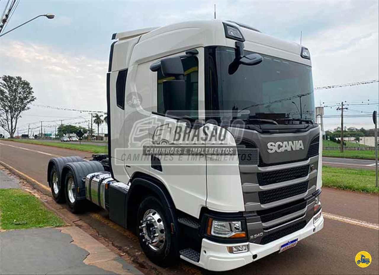 CAMINHAO SCANIA SCANIA 540 Chassis Traçado 6x4 Brasão Caminhões e Veículos CAMBE PARANÁ PR