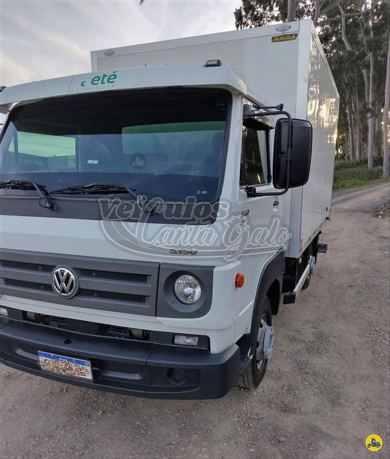 CAMINHAO VOLKSWAGEN VW 5150 Baú Térmico 3/4 4x2 Veículos Canta Galo RIO DO SUL SANTA CATARINA SC