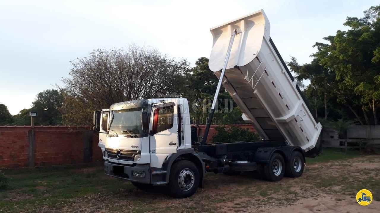 CAMINHAO MERCEDES-BENZ MB 2425 Caçamba Basculante Truck 6x2 Real Cred Caminhões PIEDADE SÃO PAULO SP
