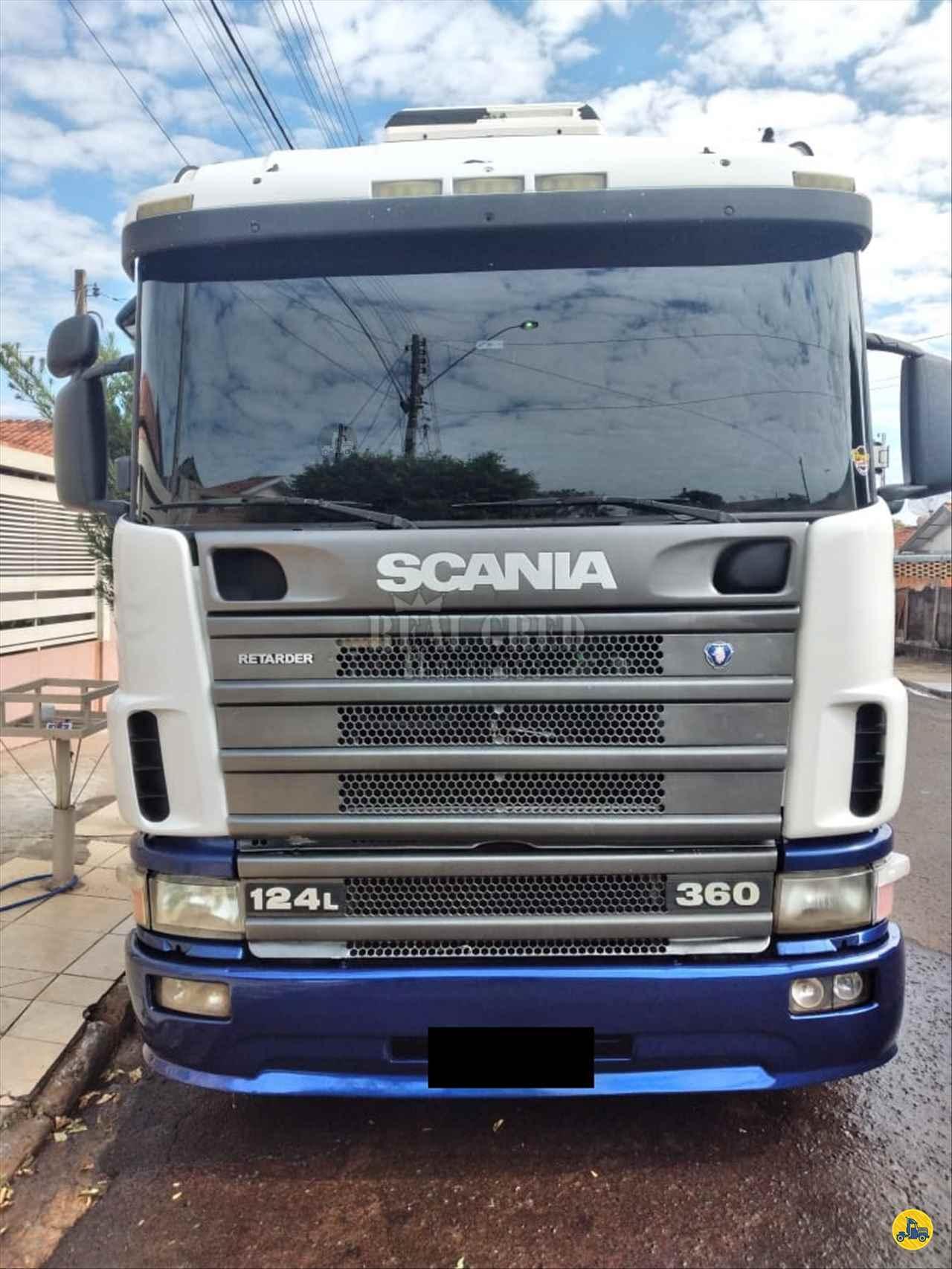 CAMINHAO SCANIA SCANIA 124 360 Cavalo Mecânico Truck 6x2 Real Cred Caminhões PIEDADE SÃO PAULO SP