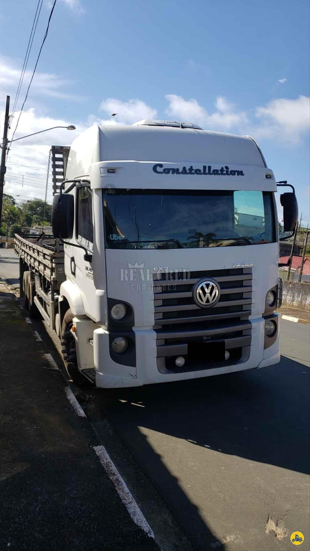 CAMINHAO VOLKSWAGEN VW 24280 Carga Seca Truck 6x2 Real Cred Caminhões PIEDADE SÃO PAULO SP