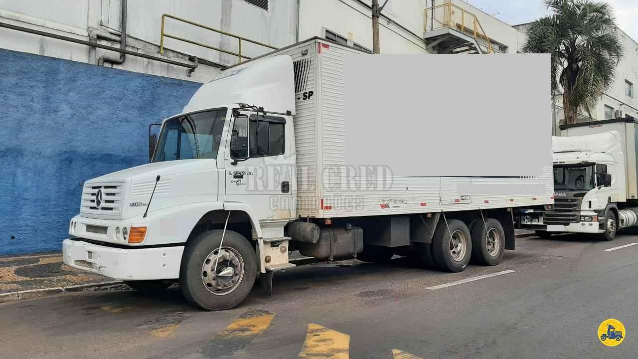 CAMINHAO MERCEDES-BENZ MB 1218 Chassis Truck 6x2 Real Cred Caminhões PIEDADE SÃO PAULO SP