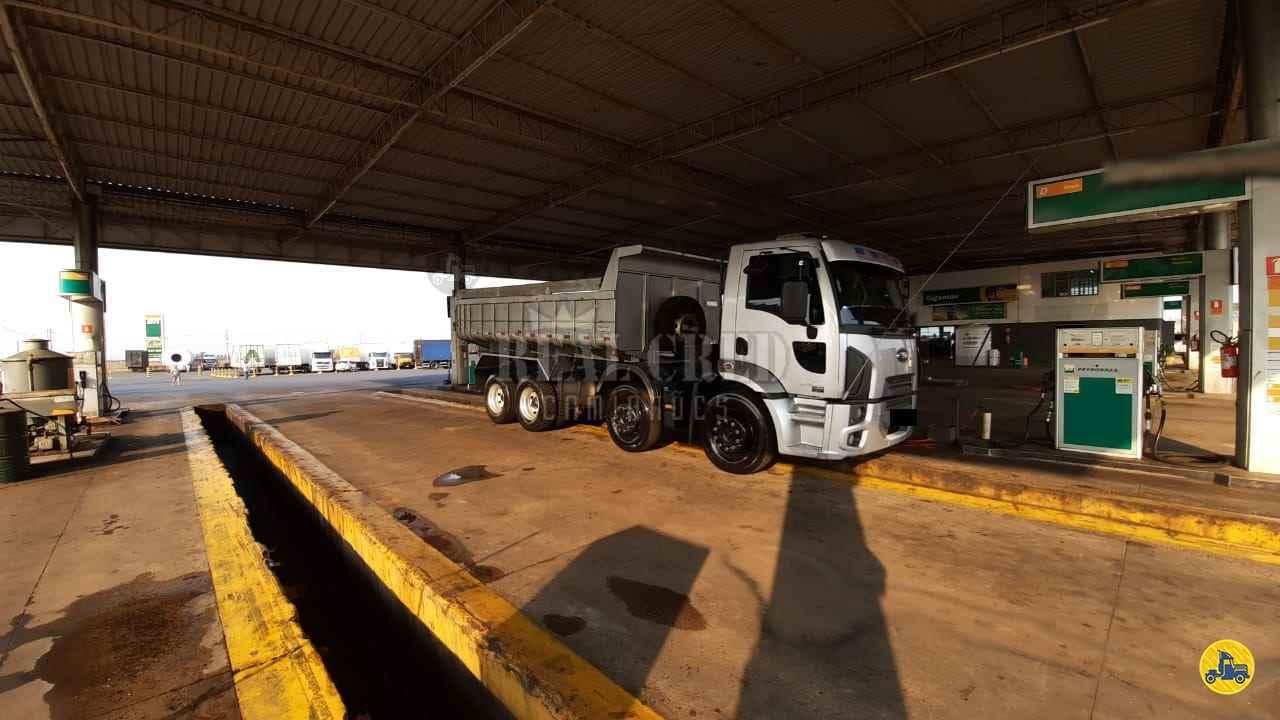 CAMINHAO FORD CARGO 2429 Caçamba Basculante BiTruck 8x2 Real Cred Caminhões PIEDADE SÃO PAULO SP