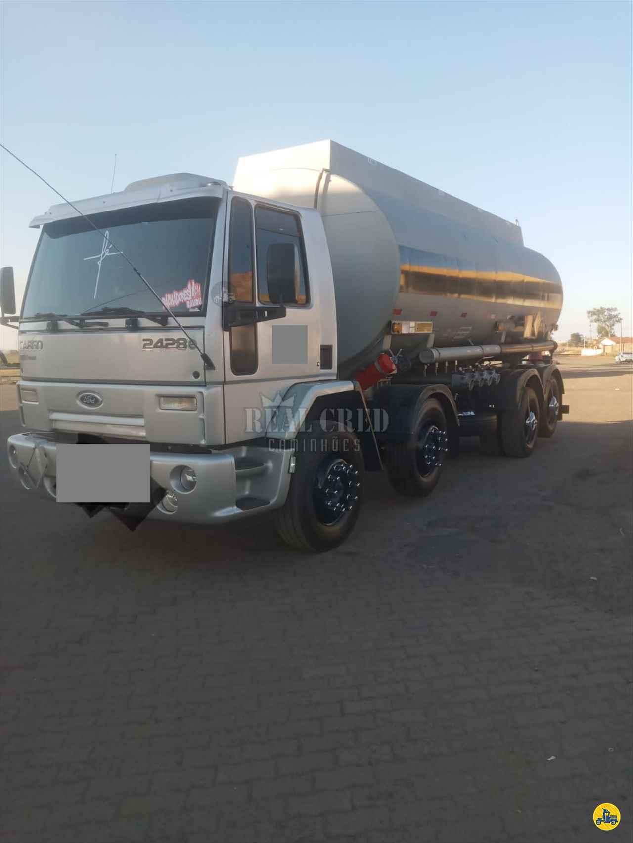 CAMINHAO FORD CARGO 2428 Tanque Aço BiTruck 8x2 Real Cred Caminhões PIEDADE SÃO PAULO SP