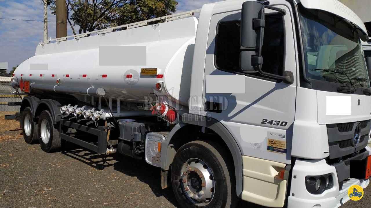 CAMINHAO MERCEDES-BENZ MB 2430 Tanque Aço Truck 6x2 Real Cred Caminhões PIEDADE SÃO PAULO SP