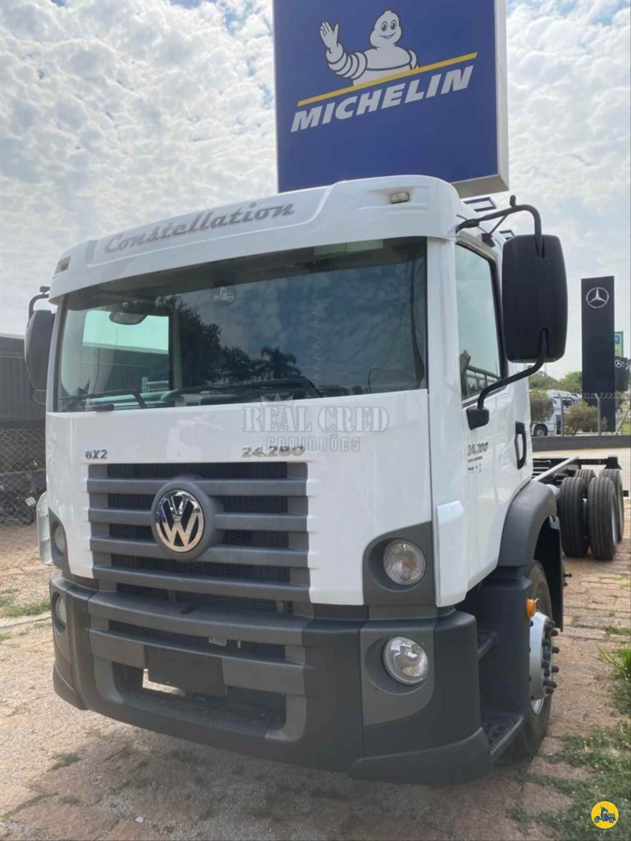 CAMINHAO VOLKSWAGEN VW 24280 Chassis Truck 6x2 Real Cred Caminhões PIEDADE SÃO PAULO SP