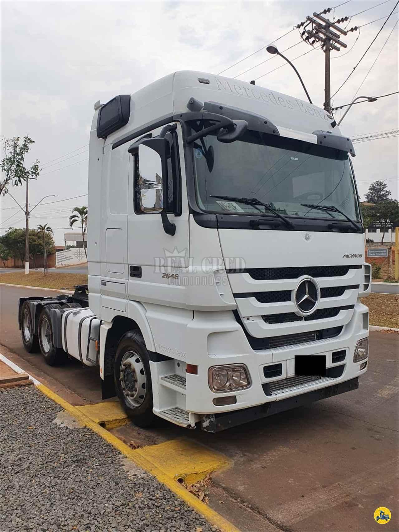 CAMINHAO MERCEDES-BENZ MB 2646 Cavalo Mecânico Traçado 6x4 Real Cred Caminhões PIEDADE SÃO PAULO SP