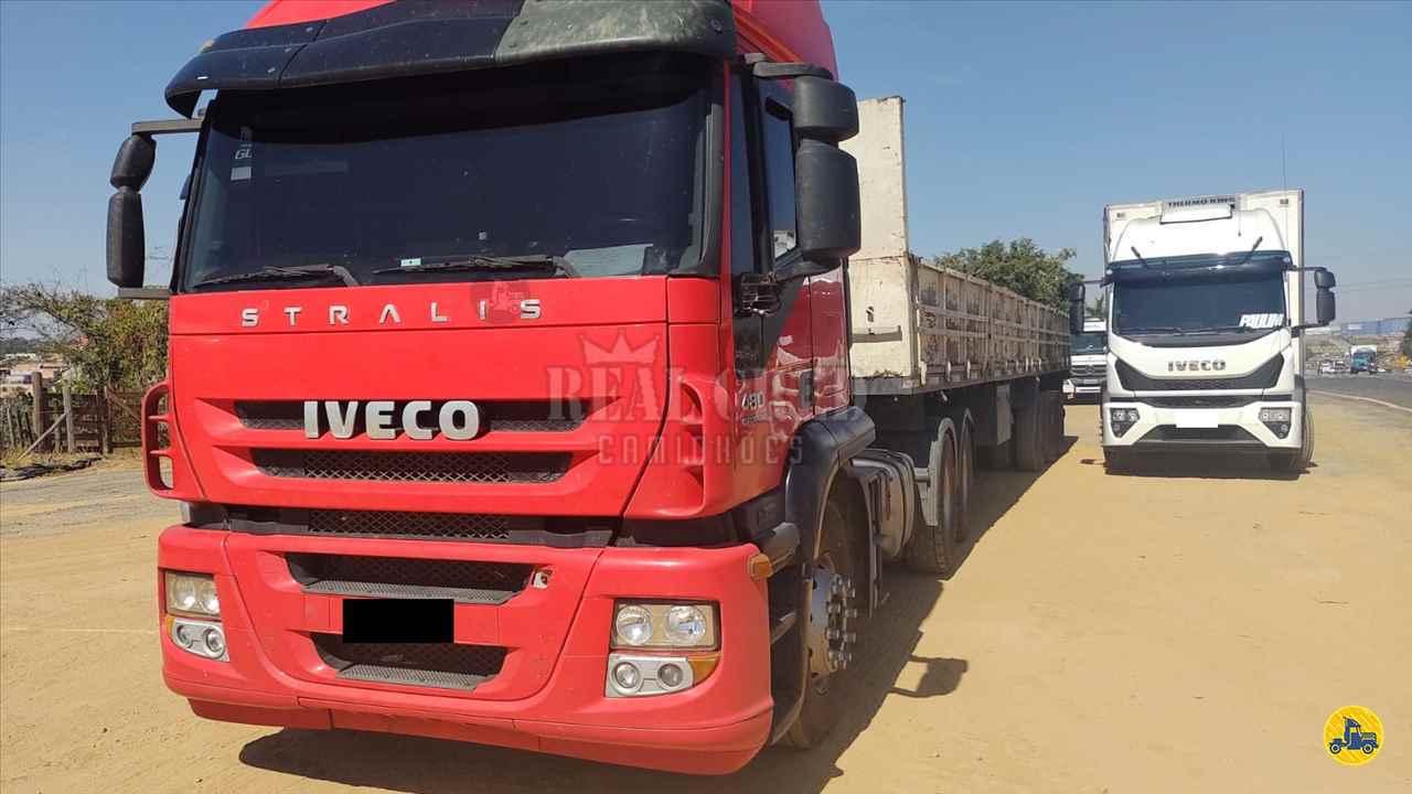 CAMINHAO IVECO STRALIS 480 Cavalo Mecânico Traçado 6x4 Real Cred Caminhões PIEDADE SÃO PAULO SP