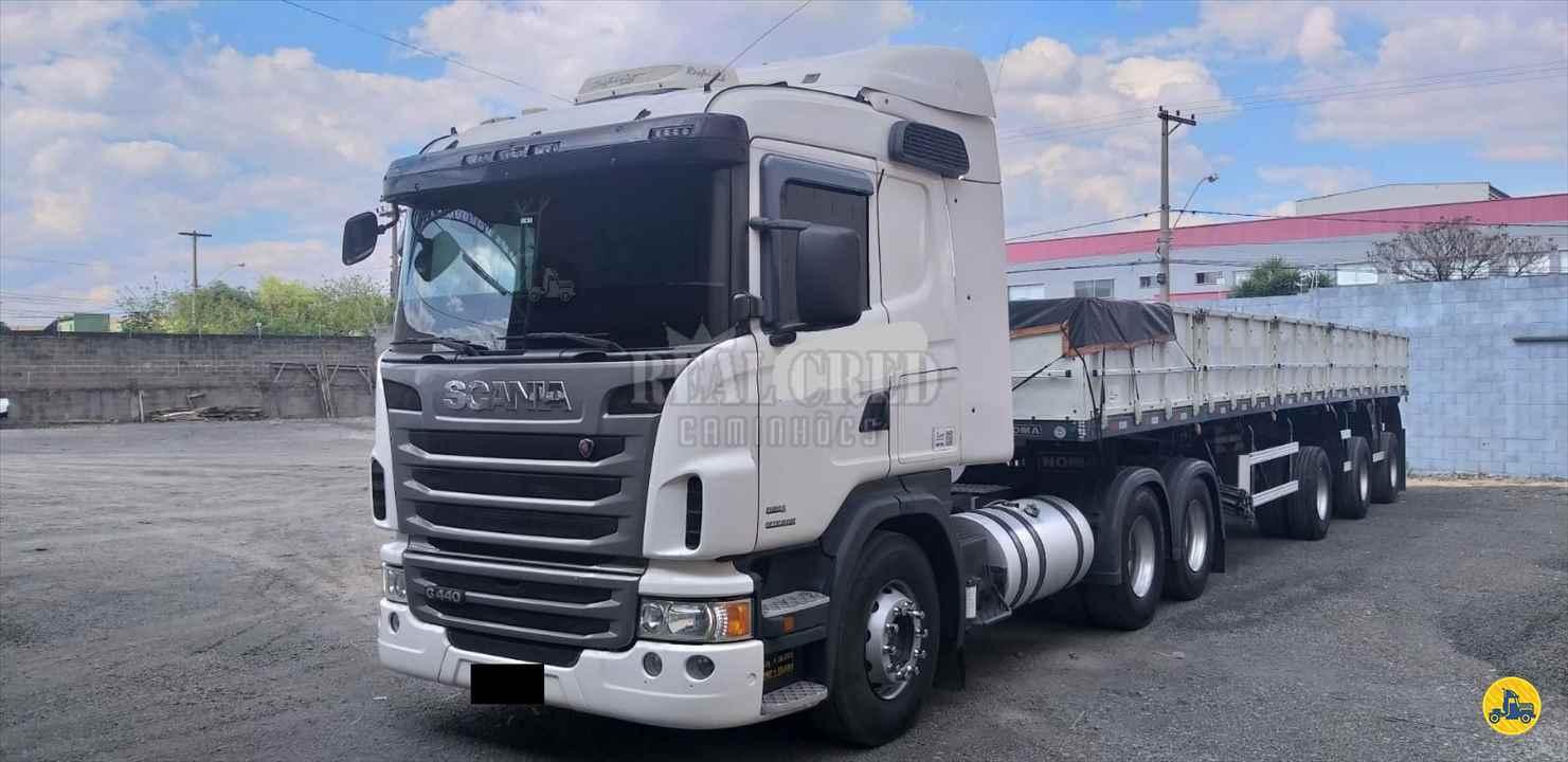 CAMINHAO SCANIA SCANIA 440 Cavalo Mecânico Truck 6x2 Real Cred Caminhões PIEDADE SÃO PAULO SP