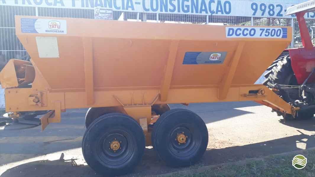 DISTRIBUIDOR CALCÁRIO 7500 Kg  20 Jatai Tratores