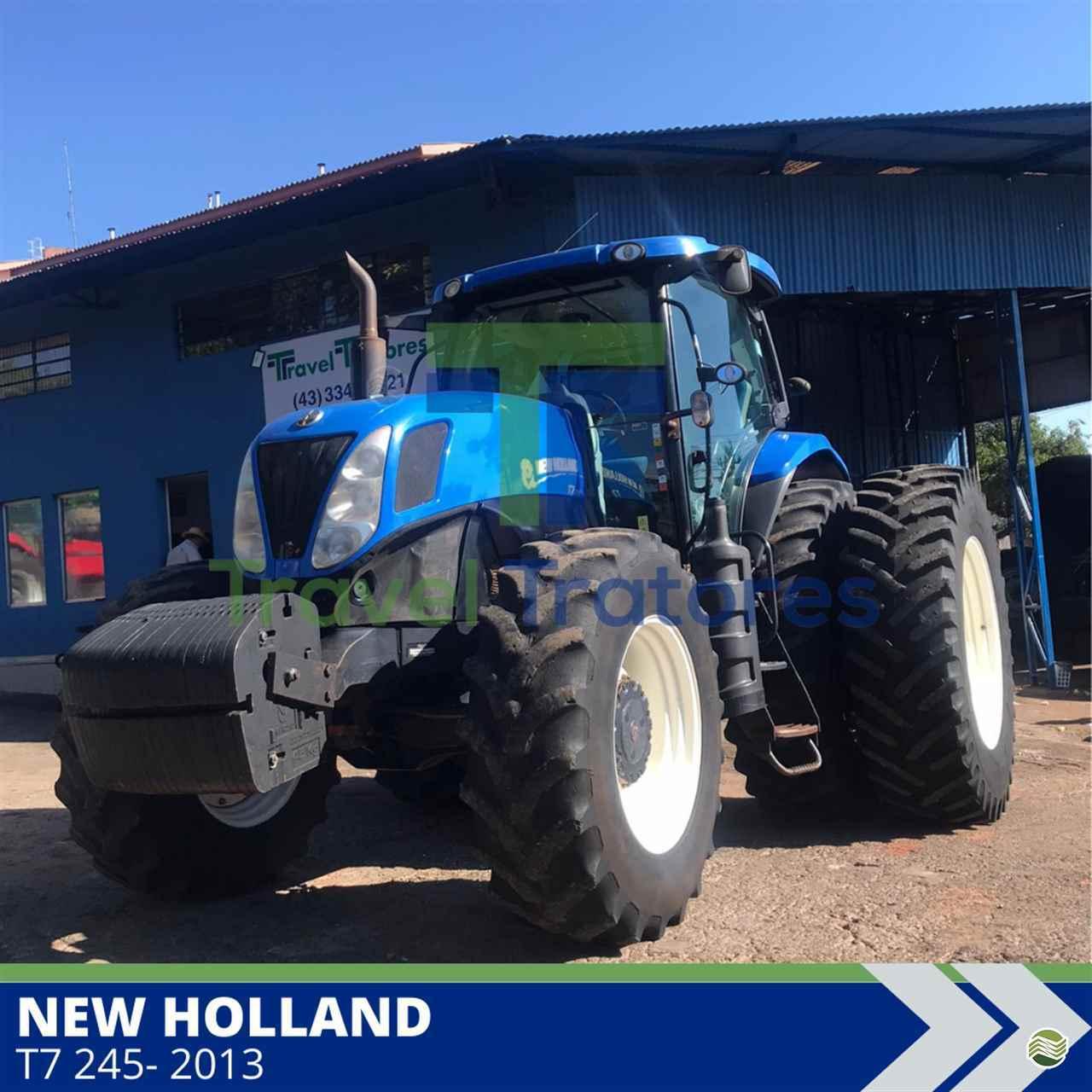 TRATOR NEW HOLLAND NEW T7 245 Tração 4x4 Travel Máquinas Agrícolas LONDRINA PARANÁ PR