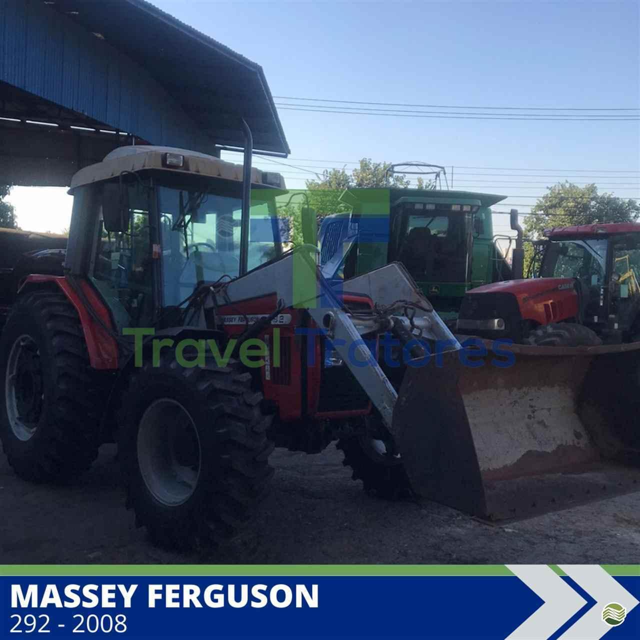 TRATOR MASSEY FERGUSON MF 292 Tração 4x4 Travel Máquinas Agrícolas LONDRINA PARANÁ PR