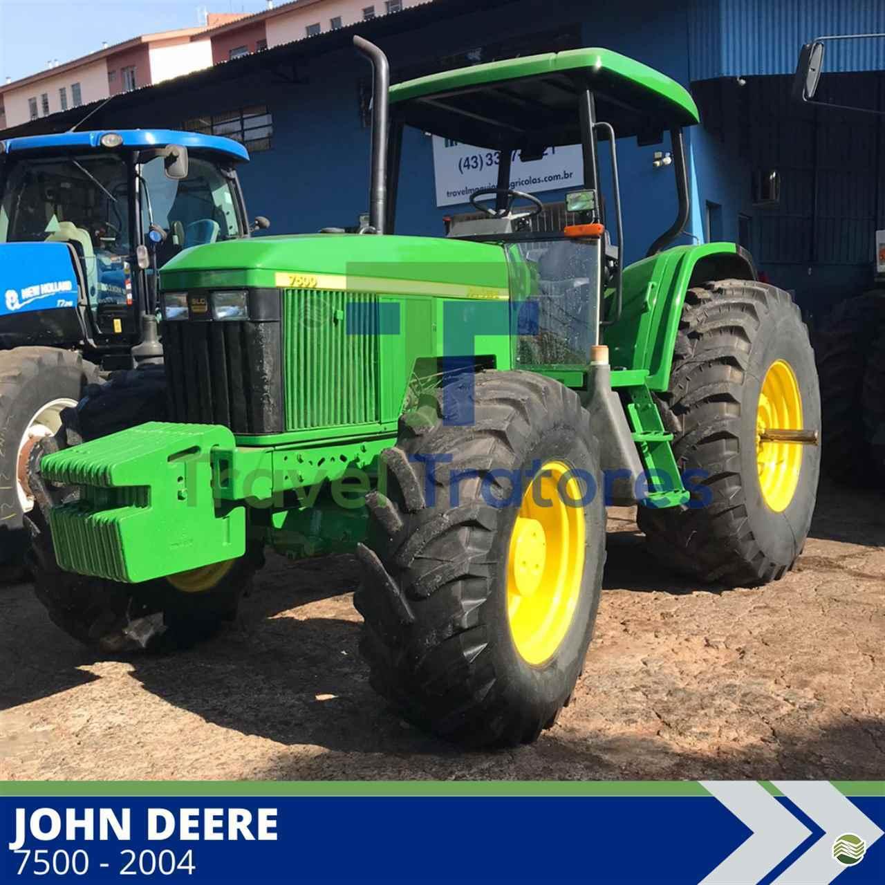 TRATOR JOHN DEERE JOHN DEERE 7500 Tração 4x4 Travel Máquinas Agrícolas LONDRINA PARANÁ PR
