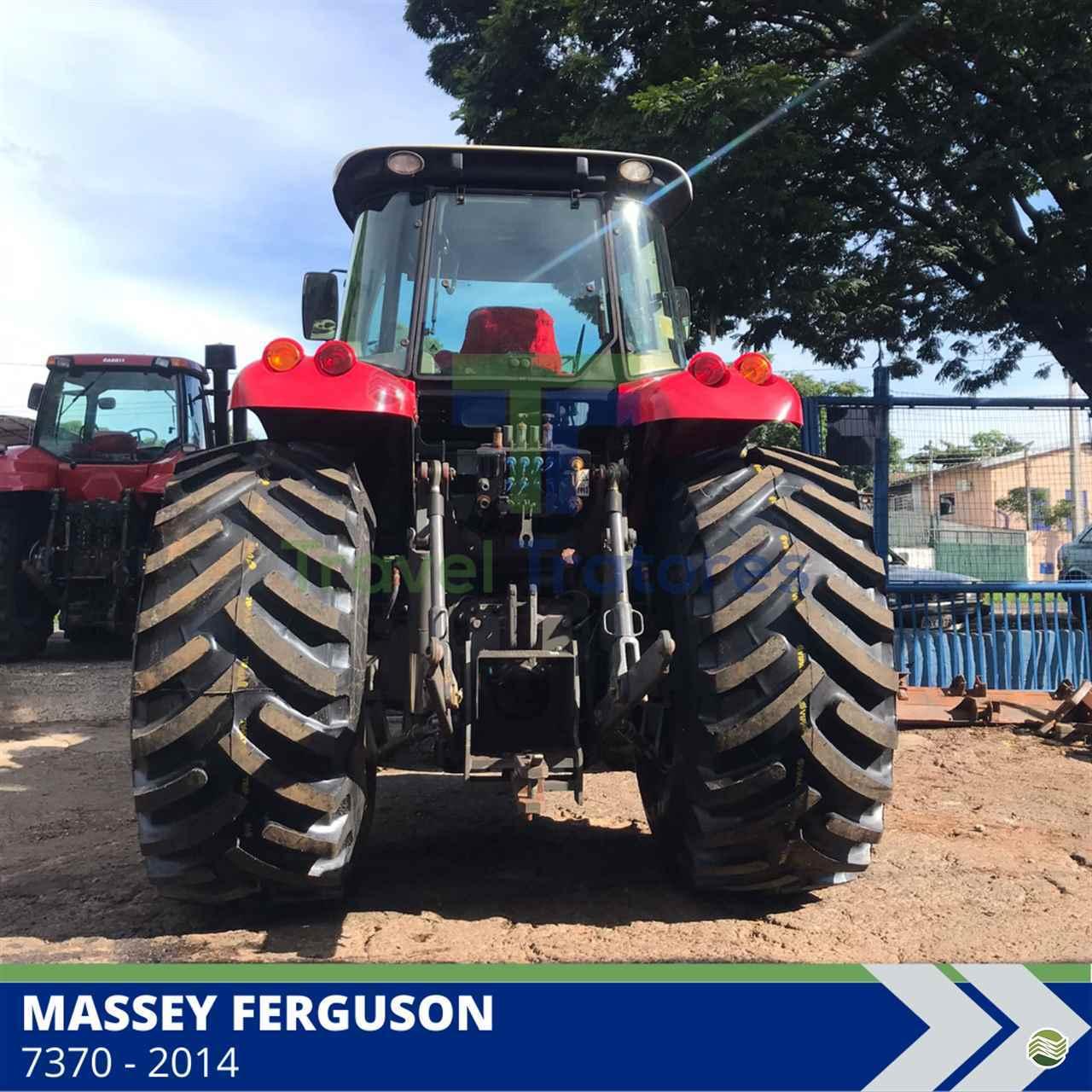 TRATOR MASSEY FERGUSON MF 7370 Tração 4x4 Travel Máquinas Agrícolas LONDRINA PARANÁ PR