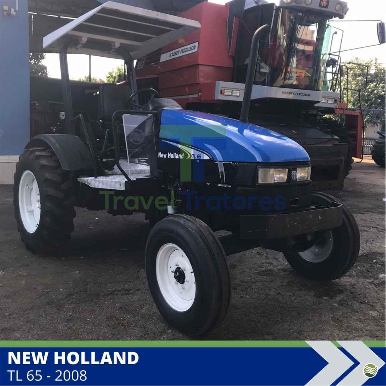 TRATOR NEW HOLLAND NEW TL 65 Tração 4x2 Travel Máquinas Agrícolas LONDRINA PARANÁ PR