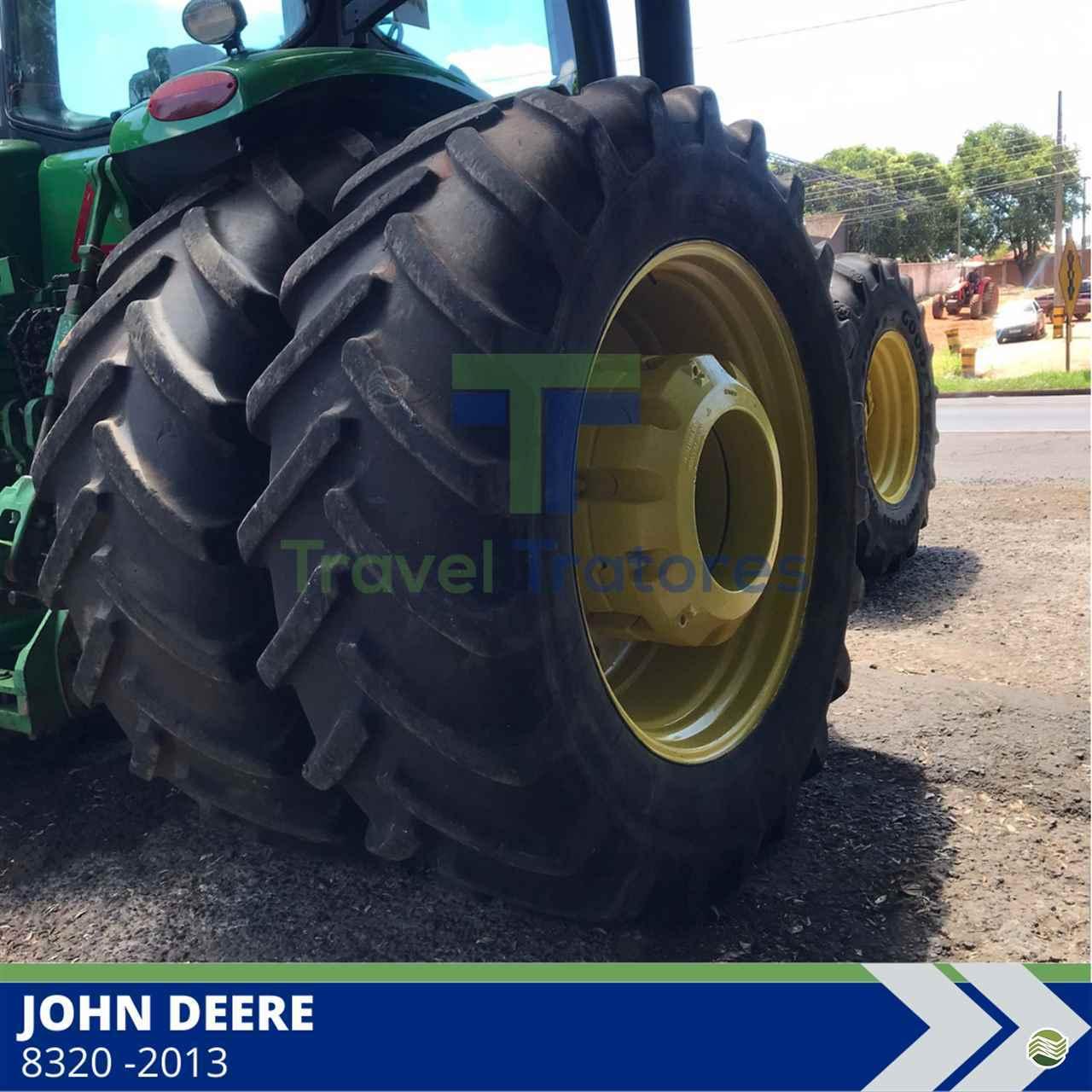 TRATOR JOHN DEERE JOHN DEERE 8320 Tração 4x4 Travel Máquinas Agrícolas LONDRINA PARANÁ PR