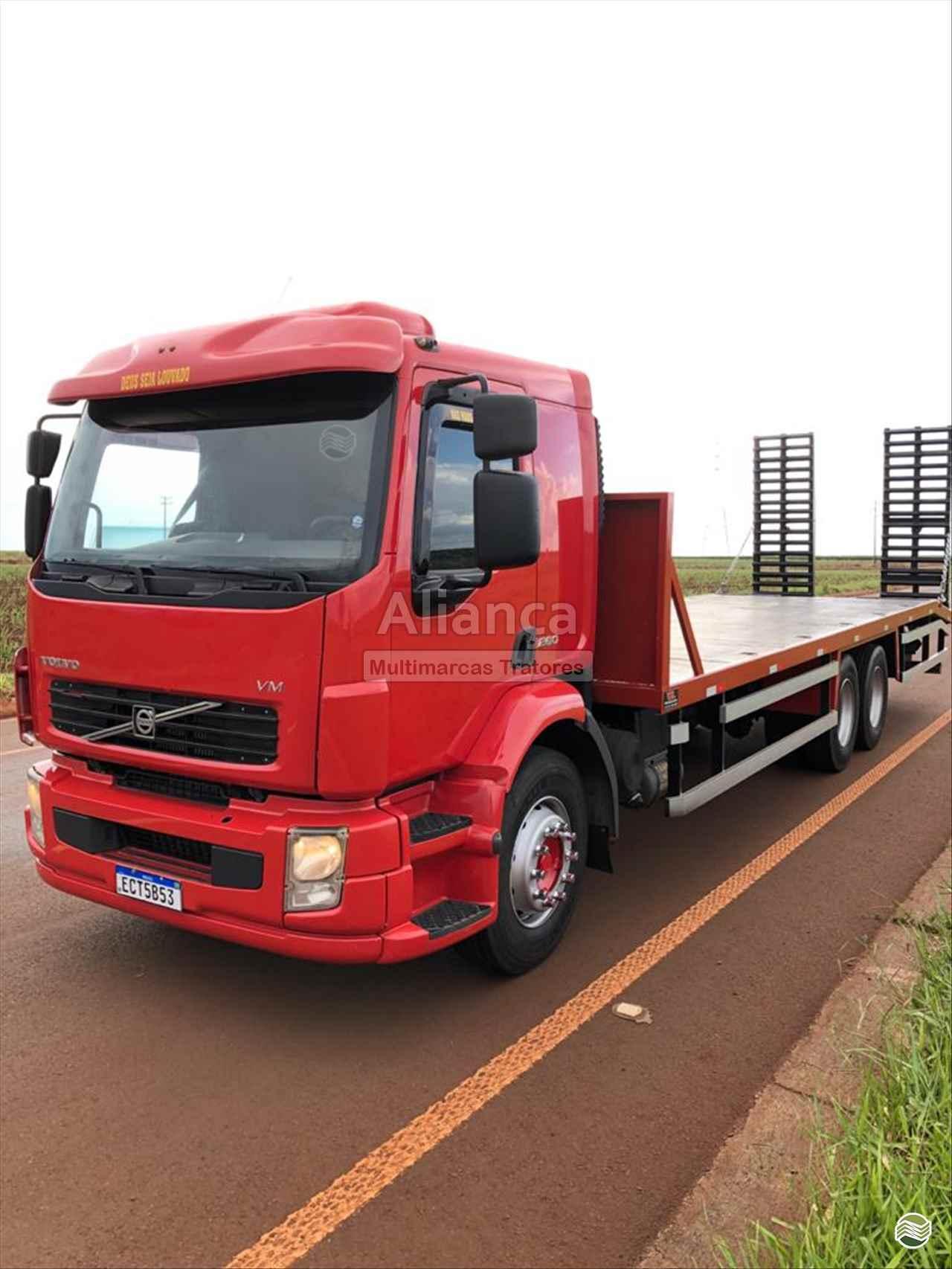 CAMINHAO VOLVO VOLVO VM 260 Plataforma Truck 6x2 Aliança Multimarcas Tratores UBIRAJARA SÃO PAULO SP