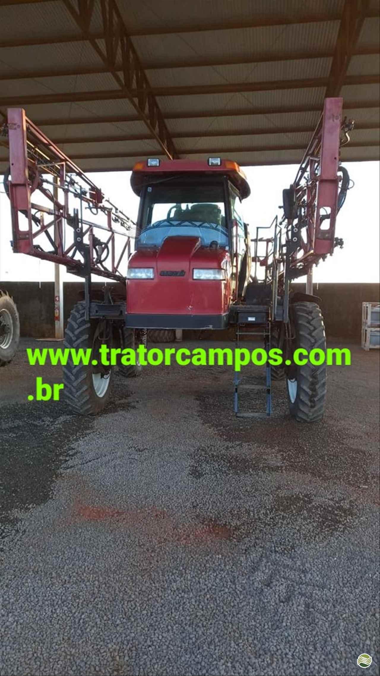 PULVERIZADOR CASE PATRIOT 350 Tração 4x4 Trator Campos GUAPO GOIAS GO