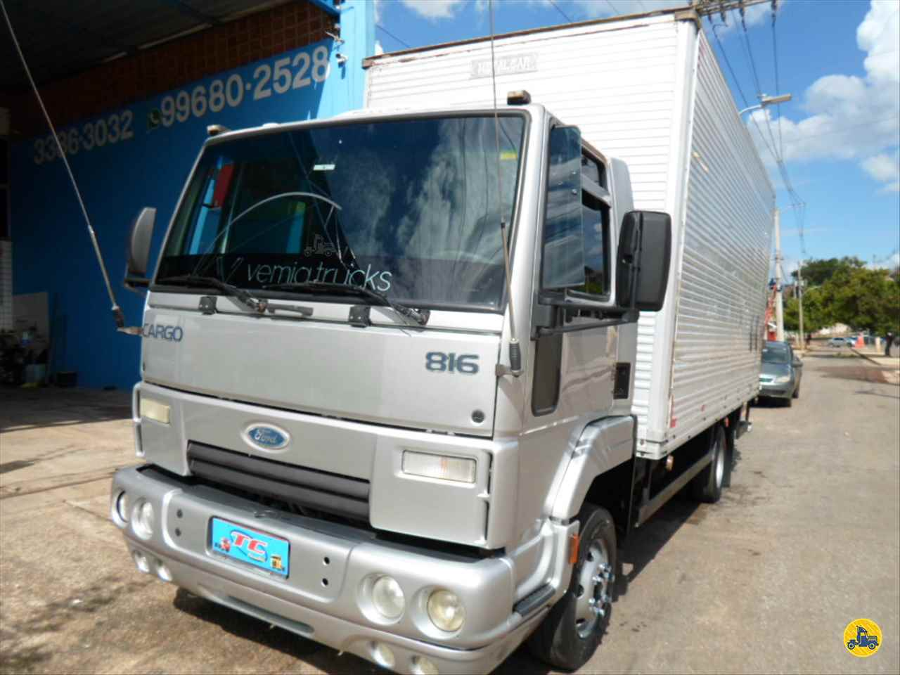 CAMINHAO FORD CARGO 816 Baú Furgão 3/4 4x2 TC Caminhões  BELO HORIZONTE MINAS GERAIS MG