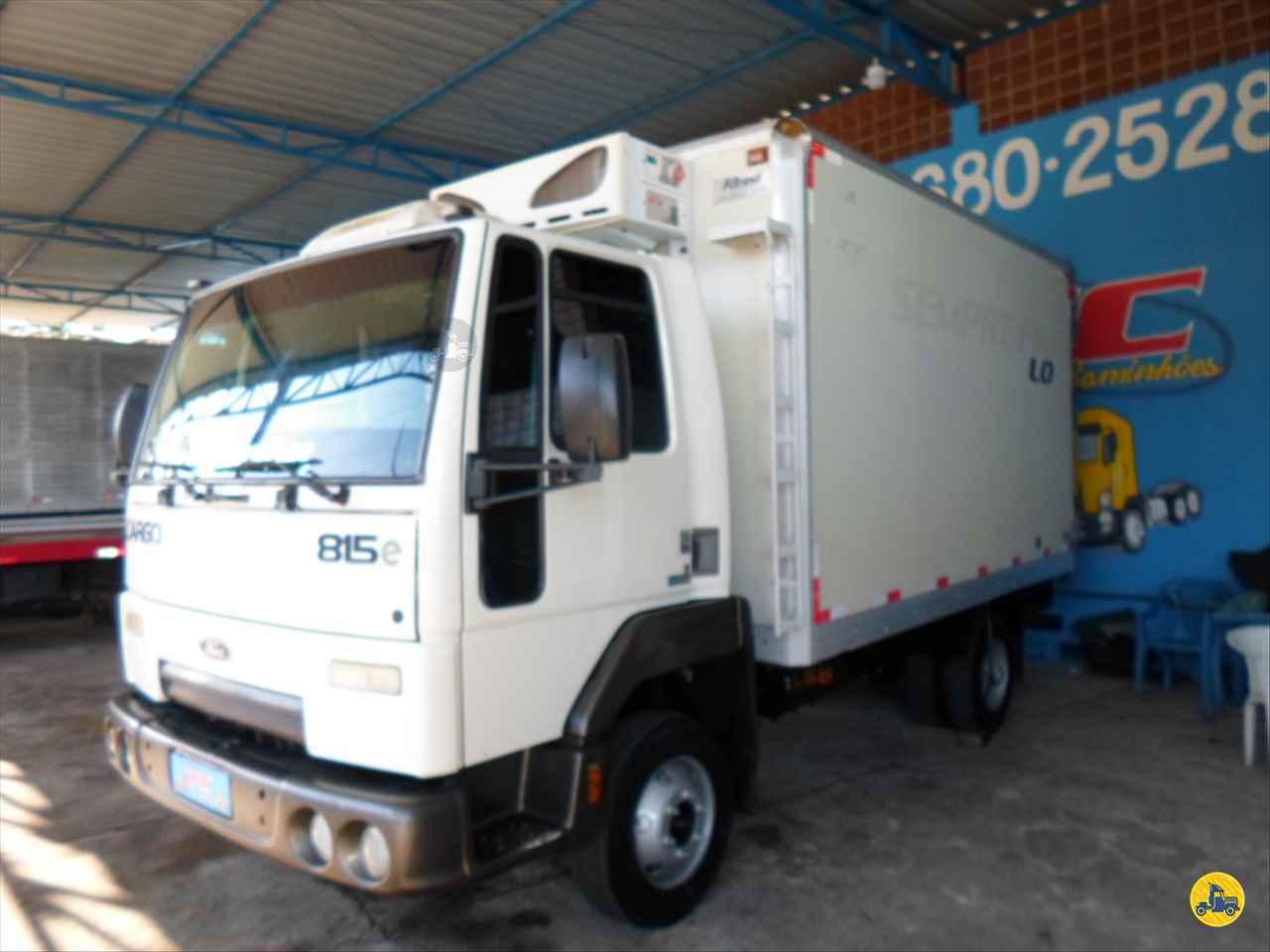 CAMINHAO FORD CARGO 815 Baú Frigorífico 3/4 4x2 TC Caminhões  BELO HORIZONTE MINAS GERAIS MG