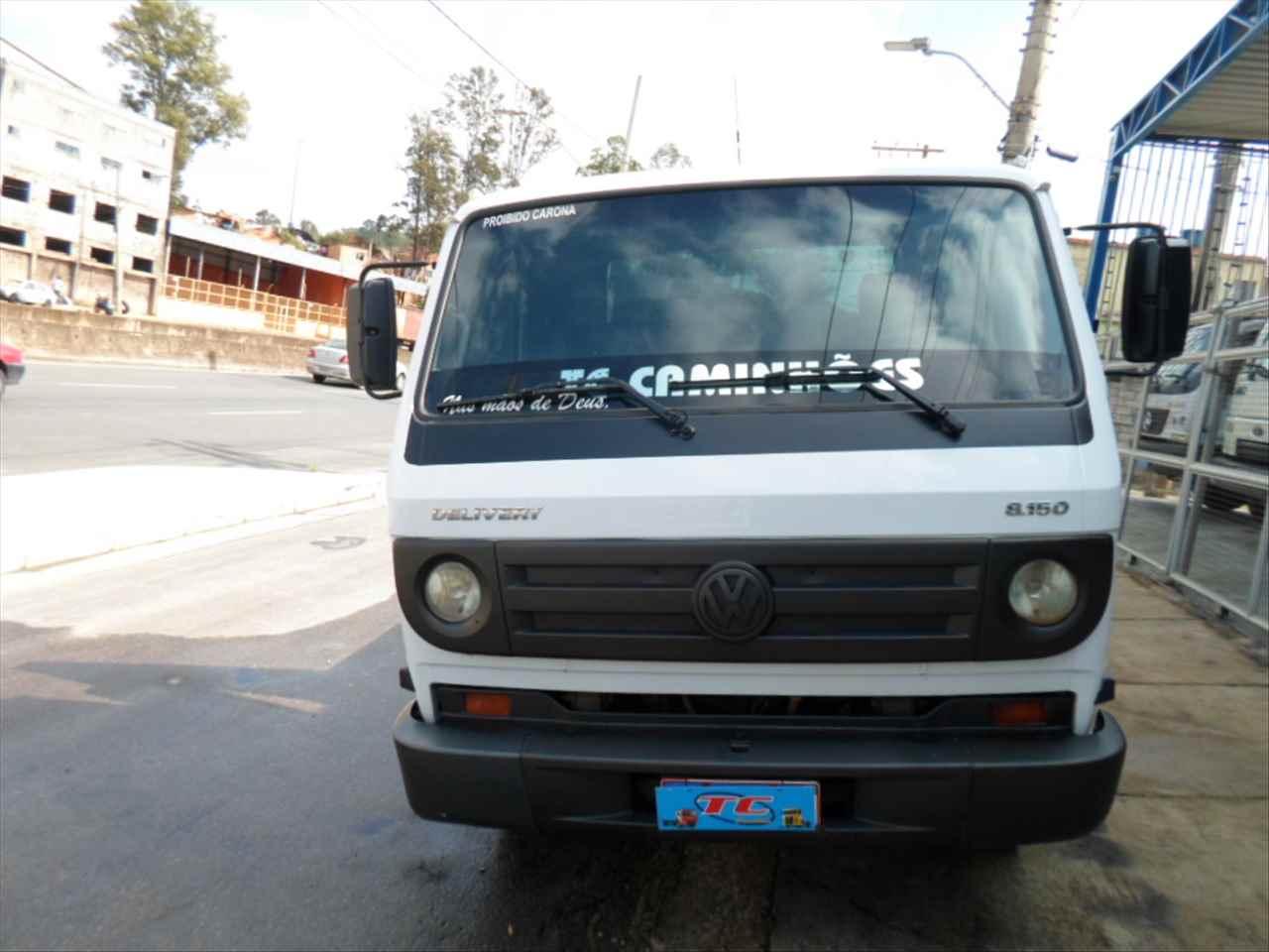 CAMINHAO VOLKSWAGEN VW 8150 Plataforma 3/4 4x2 TC Caminhões  BELO HORIZONTE MINAS GERAIS MG
