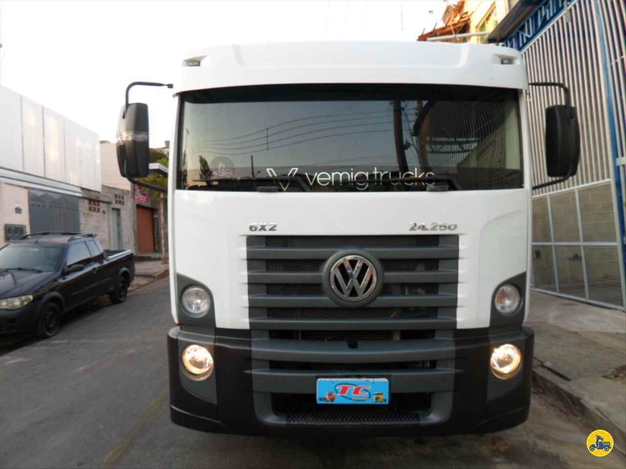 CAMINHAO VOLKSWAGEN VW 24250 Caçamba Basculante 3/4 6x2 TC Caminhões  BELO HORIZONTE MINAS GERAIS MG