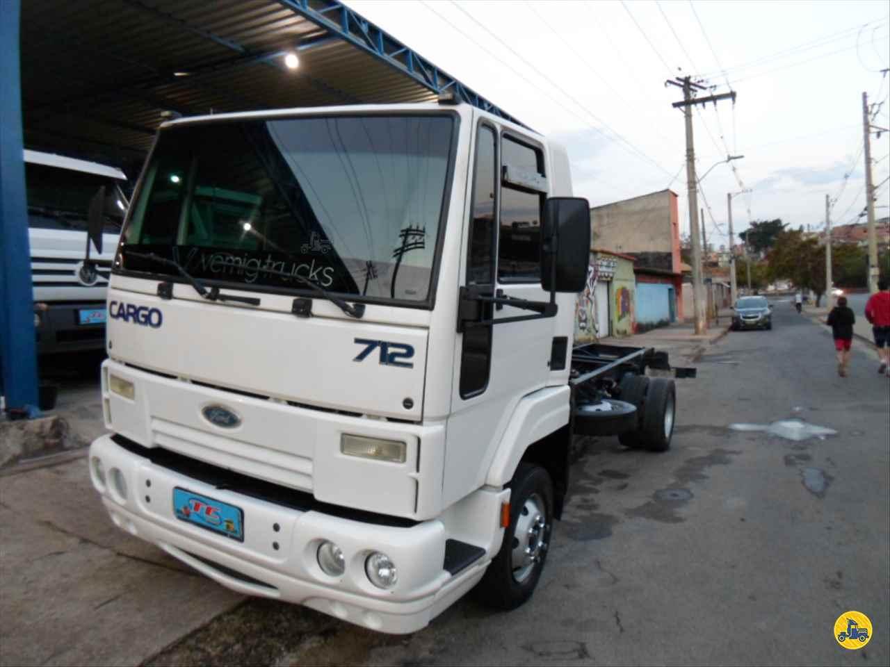 CAMINHAO FORD CARGO 712 Chassis Toco 4x4 TC Caminhões  BELO HORIZONTE MINAS GERAIS MG