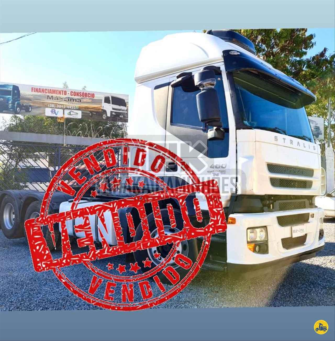 CAMINHAO IVECO STRALIS 400 Chassis Truck 6x2 Tanaka Caminhões MONTES CLAROS MINAS GERAIS MG
