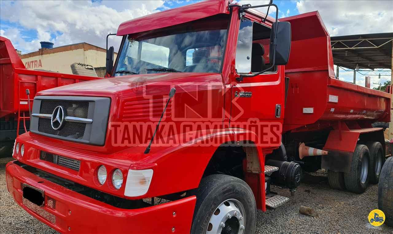 CAMINHAO MERCEDES-BENZ MB 1620 Caçamba Basculante Truck 6x2 Tanaka Caminhões MONTES CLAROS MINAS GERAIS MG