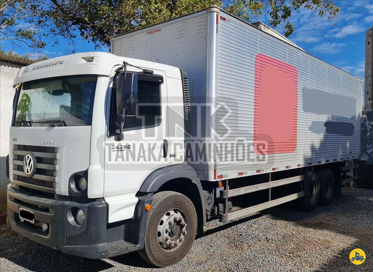 CAMINHAO VOLKSWAGEN VW 24280 Baú Furgão Truck 6x2 Tanaka Caminhões MONTES CLAROS MINAS GERAIS MG