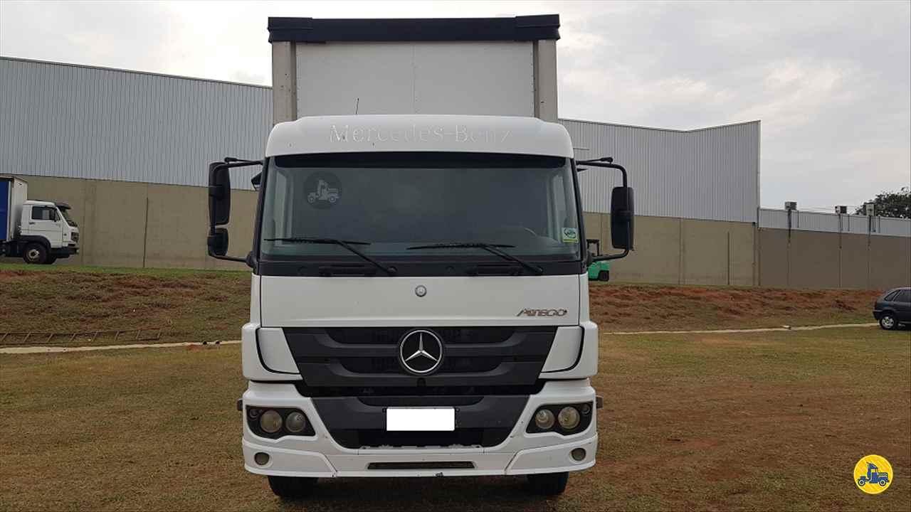 CAMINHAO MERCEDES-BENZ MB 2426 Baú Sider Truck 6x2 Peso Caminhões LINS SÃO PAULO SP