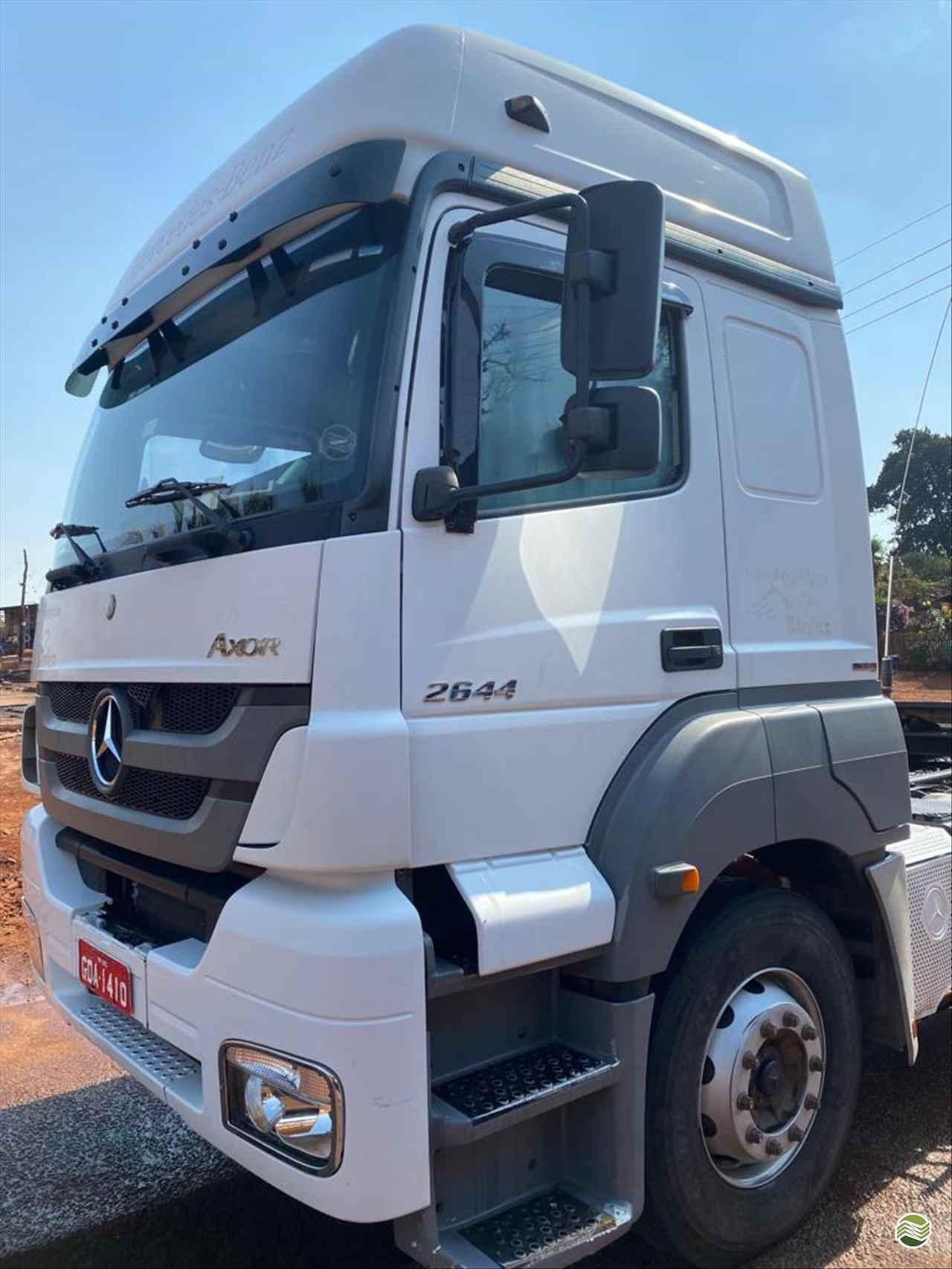 CAMINHAO MERCEDES-BENZ MB 2644 Cavalo Mecânico Traçado 6x4 MZ Implementos e Peças JAU SÃO PAULO SP