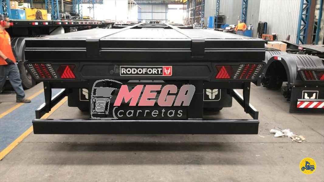 SEMI-REBOQUE PORTA-CONTAINER  2021/2021 Mega Carretas