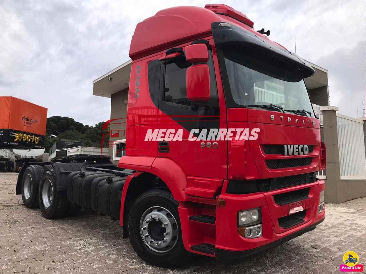 IVECO STRALIS 380 780000km 2010/2010 Mega Carretas