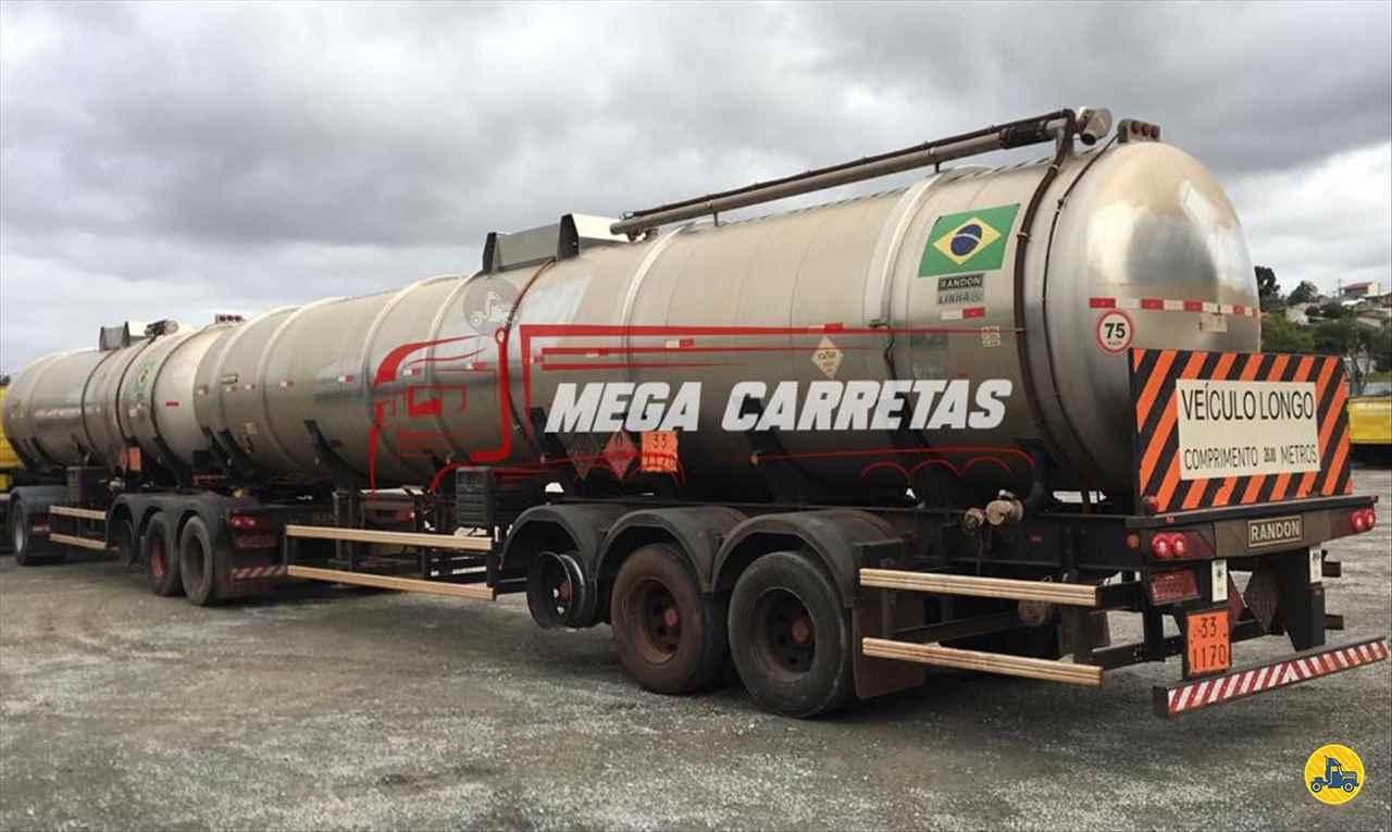 CARRETA BITREM 9 EIXOS TANQUE INOX Mega Carretas COLOMBO PARANÁ PR