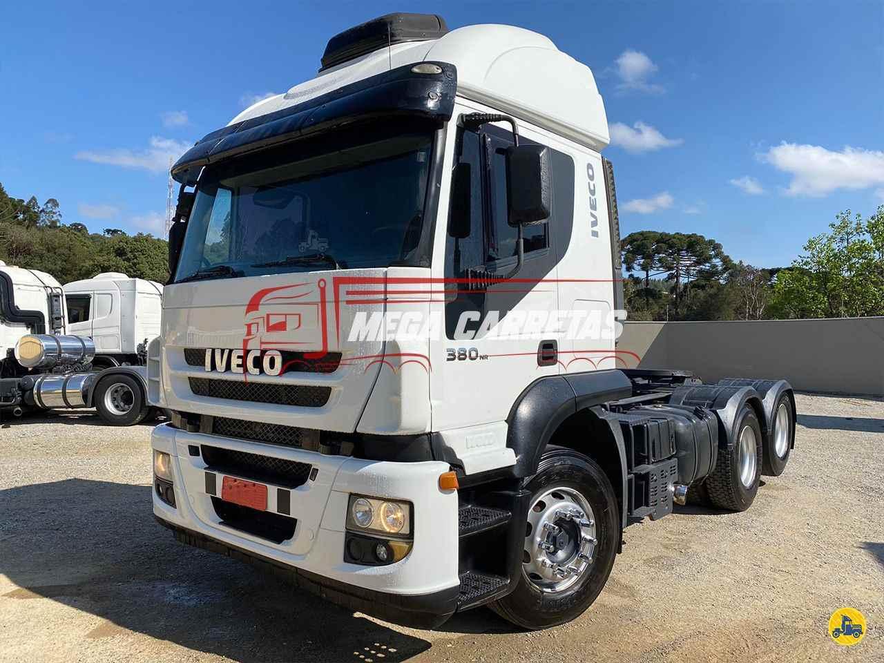 CAMINHAO IVECO STRALIS 380 Cavalo Mecânico Truck 6x2 Mega Carretas COLOMBO PARANÁ PR