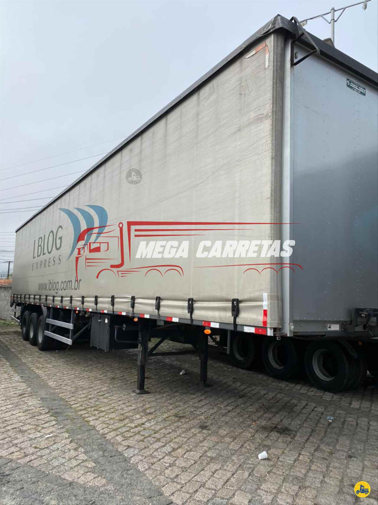 CARRETA SEMI-REBOQUE BAU SIDER Reta Mega Carretas COLOMBO PARANÁ PR