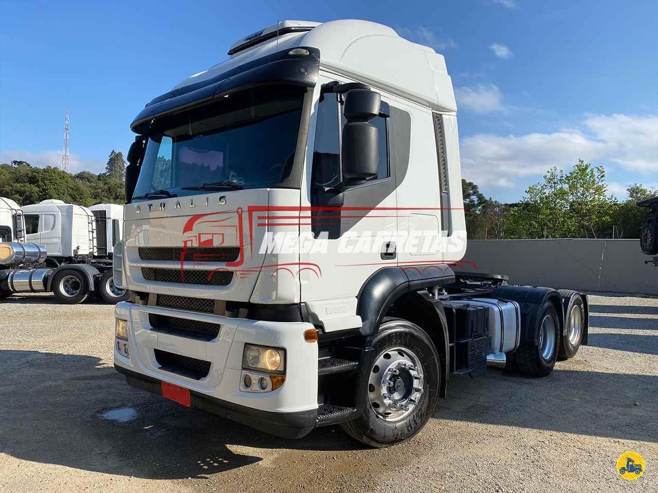 CAMINHAO IVECO STRALIS 410 Cavalo Mecânico Truck 6x2 Mega Carretas COLOMBO PARANÁ PR